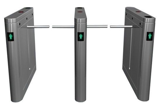 Buiten Dual manier 180 hoek barrière Arm Gates met LED-Display voor Bus Station RS485 leverancier